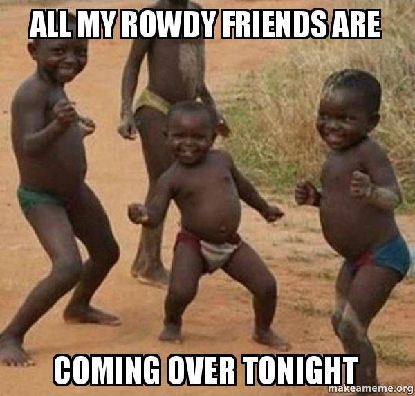 Image result for rowdy black kids