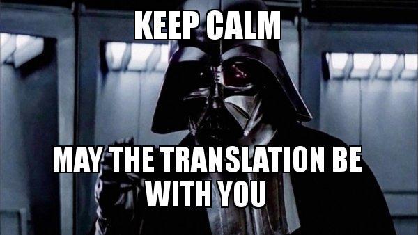 keep calm may the