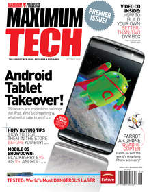 Future US Maximum Tech Magazine and Online Channel Cover the Coolest Personal Technology Gear