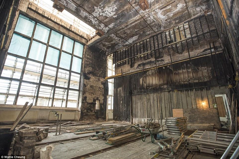 Restoring Glasgow School of Arts Mackintosh Building  Marshalls