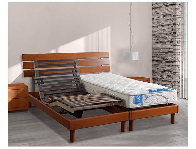 tete de lit vivaldi bois massif 3 lames