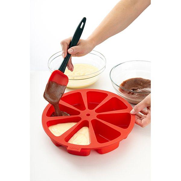 moule a gateau 8 parts cake portion silicone