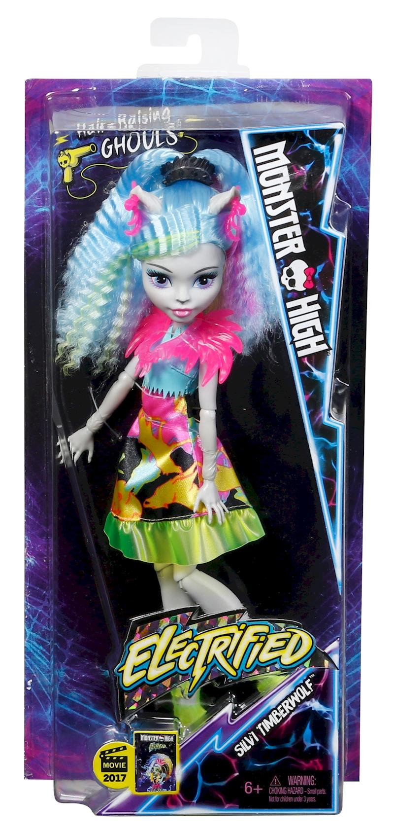 Monster High Electrified Silvi Timberwolf Doll Shop