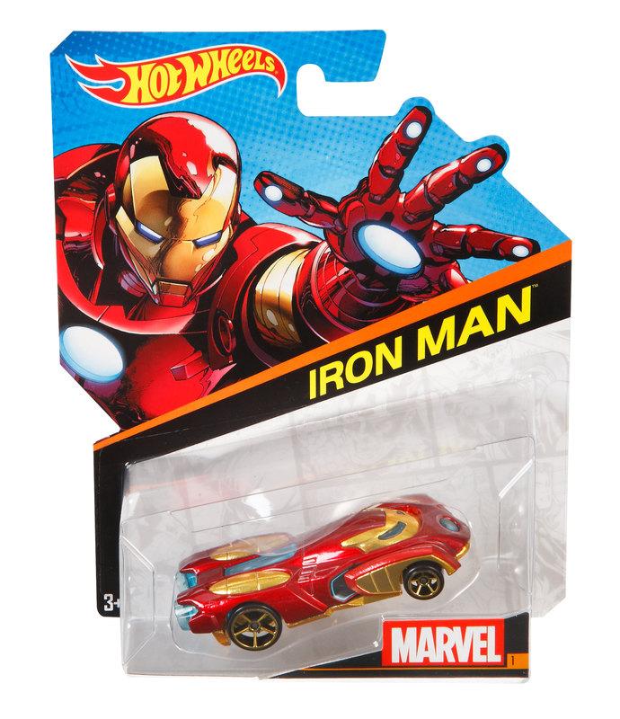 Hot Wheels® Marvel Character Cars  Iron Man  Shop Hot