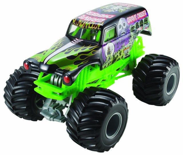Hot Wheels Monster Jam Grave Digger Vehicle Shop Hot Wheels Cars Trucks Race Tracks Hot Wheels