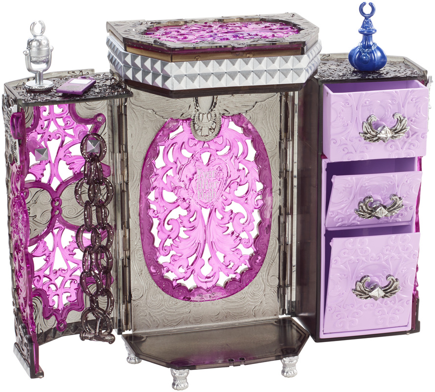 EVER AFTER HIGH Raven Queens Jewelry Box Shop Ever