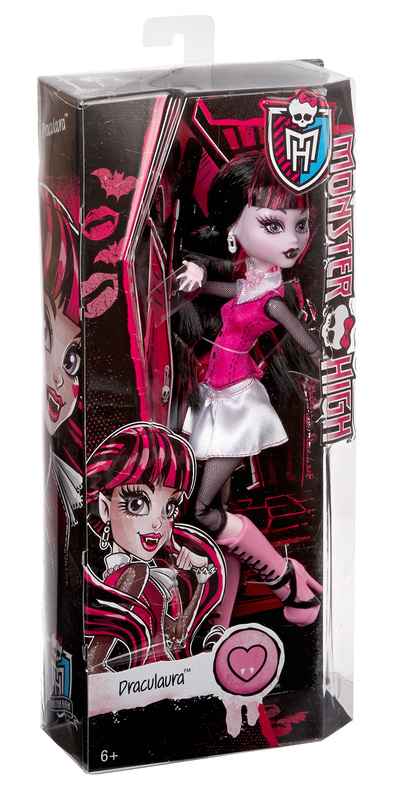 Monster High 174 Original Ghouls Collection Draculaura 174 Doll