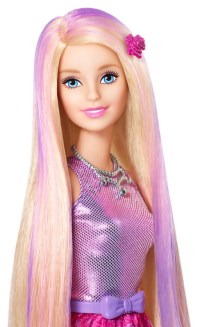 BARBIE Color and Style Doll
