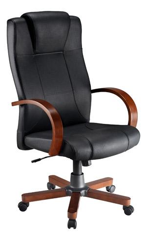 fauteuil de direction cuir avec tetiere integree modele