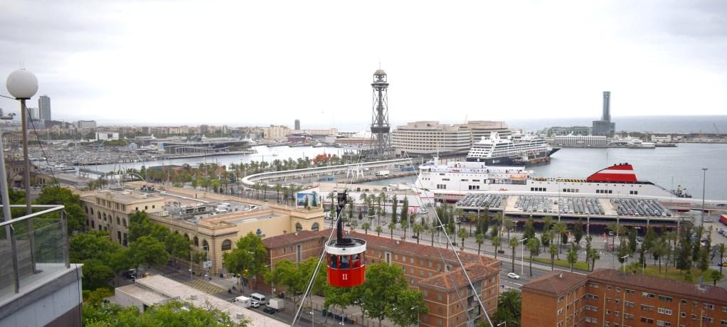 Linbana till Mount Montjuïc