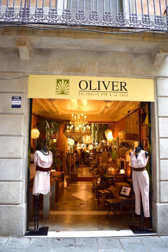 butik oliver i barcelona