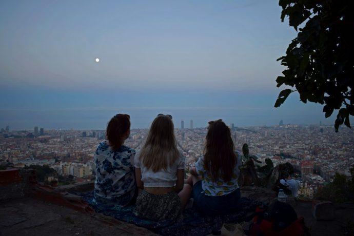 Bästa utsikten över Barcelona!