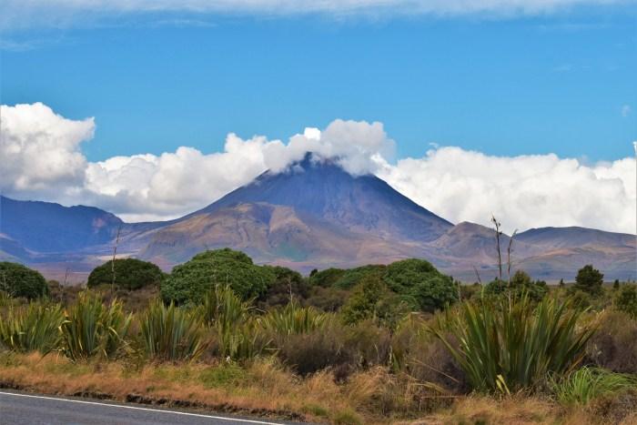 mount Ngauruhoe i tongariro nationalpark