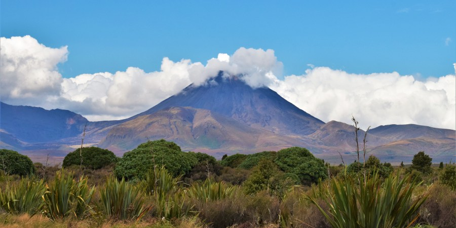 mount Ngauruhoe i tongariro nationalpark