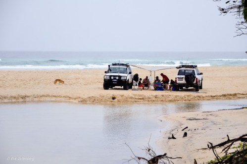 jeepar på fraiser island