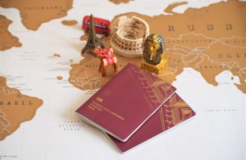 pass och värdskarta