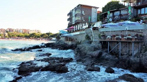 restauranger vid klipporna i sozopol
