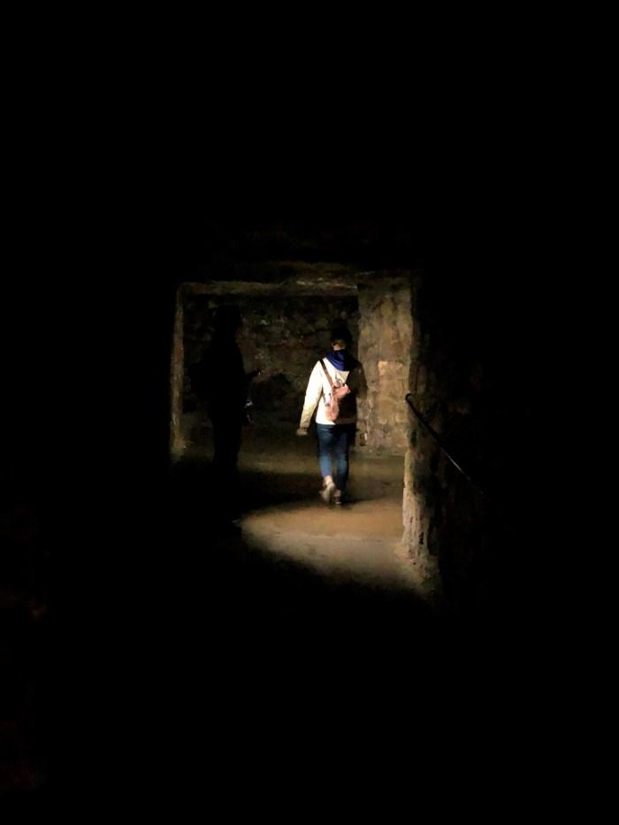 budapestsltotets labyrint mörka gångar