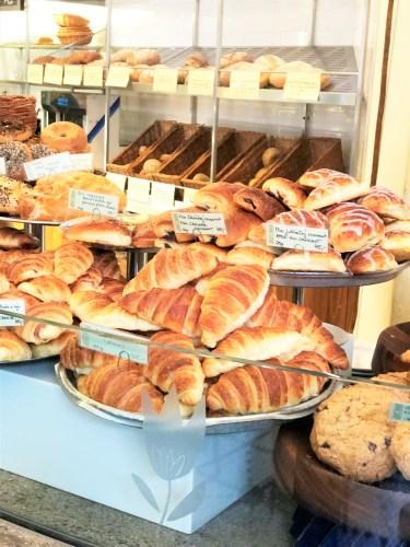 croassanter på bageri bakershop