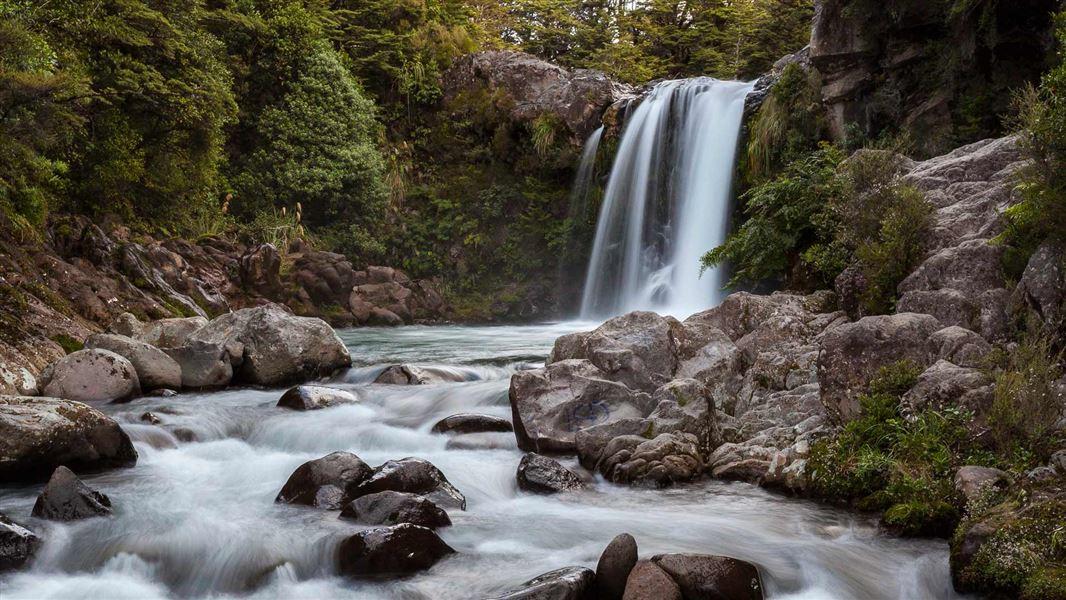 inspelningsplats lotr tawhai falls