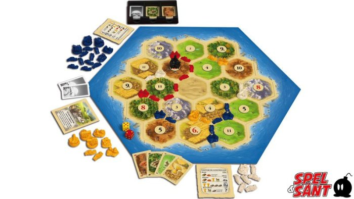 strategispel settlers från catan.