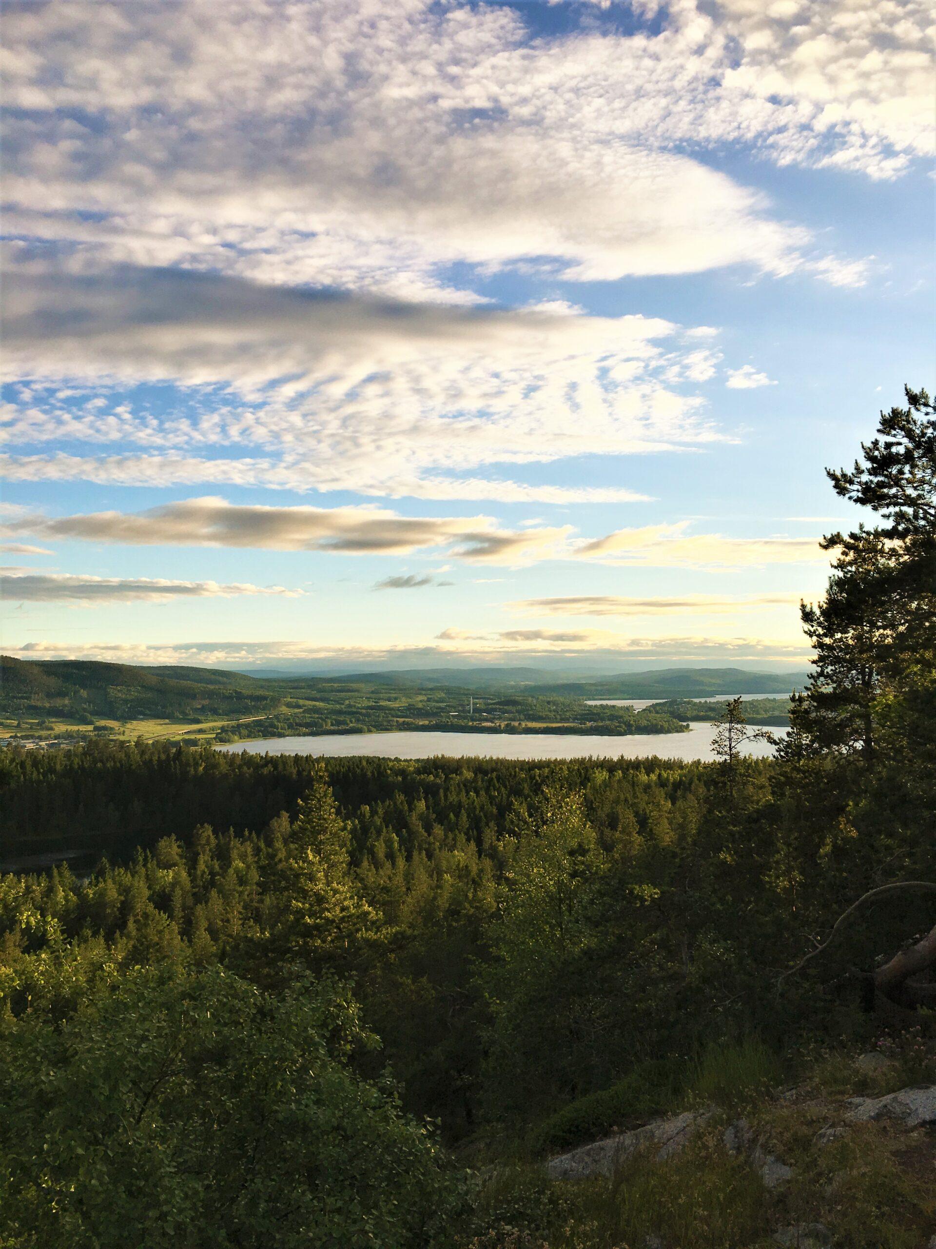 utsikt från varvsberget i örnsköldsvik.