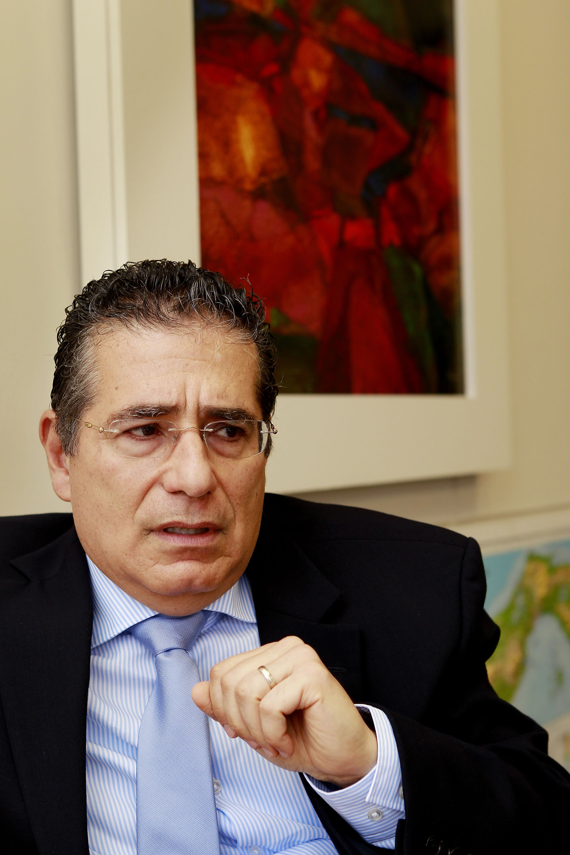 One of the co-founders of the Mossack Fonseca law firm in Panama is Ramon Fonseca Mora, seen here in a May 31, 2012 photo. // Courtesy of the International Consortium of Investigative Journalists