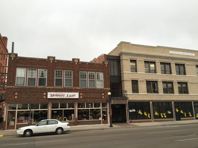 Panamanian law firm Mossack Fonseca operates its Wyoming office out of this Deming Building, on right, in the capital city of Cheyenne. It's name appears nowhere, however, as they create Wyoming companies through another registered agent, AAA Corporate Services. Wyoming is the least populous and the second least densely populated of the 50 United States but a very popular location for the formation of offshore corporations because with the help of a registered agent one can set up a LLC in Wyoming without one's name having to be in the State Register. // Kevin G. Hall / McClatchy