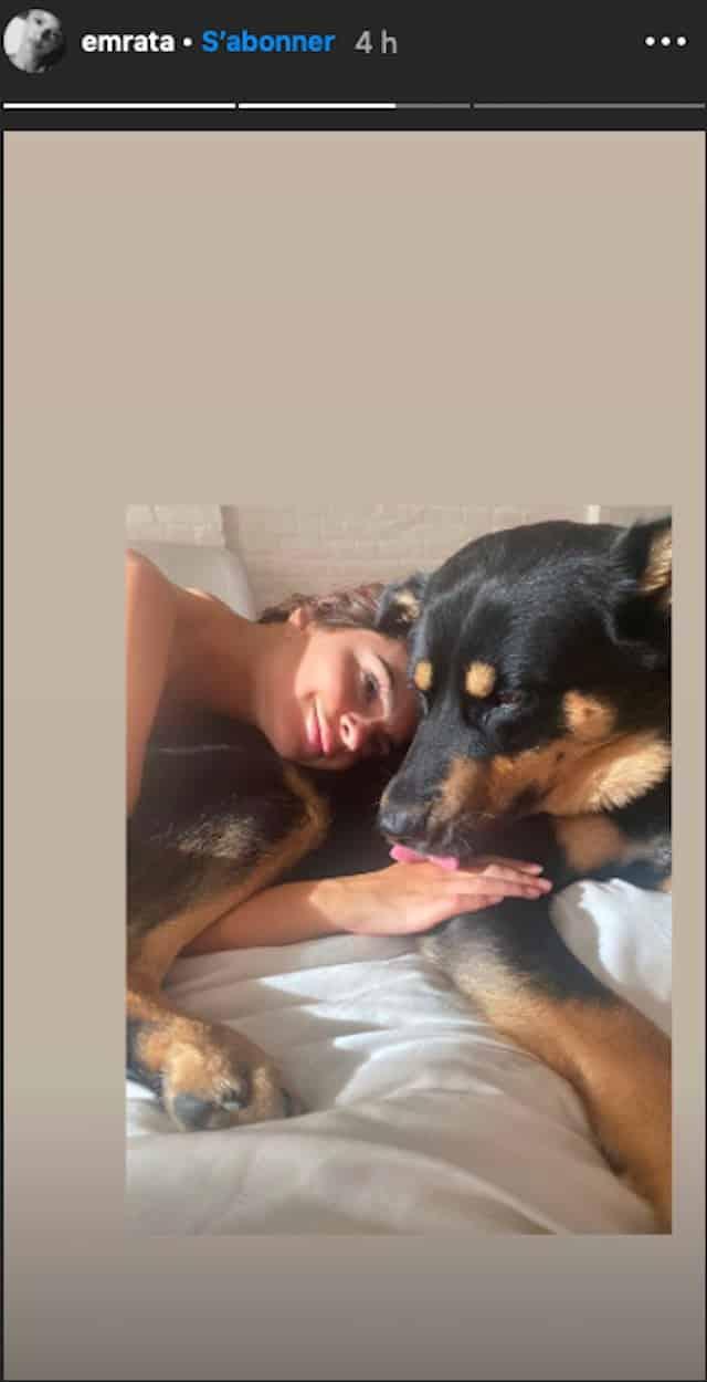 Elle Fait L'amour Avec Son Chien : l'amour, chien, Emily, Ratajkowski, Enlace, Chien, Beaucoup, D'amour