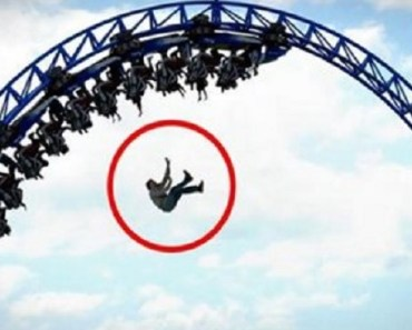 De trodde att det skulle bli en helt vanlig dag på nöjesparken! Det som hände då? SKRÄMMANDE!