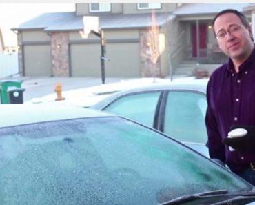 Du har gjort fel hela ditt liv! Så HÄR tar du enklast bort isen från bilen!