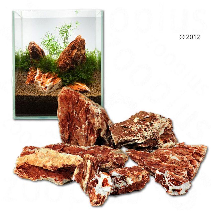 Pierres samouraï pour aquarium - kit 60 cm : 9 pierres naturelles, 6 kg environ