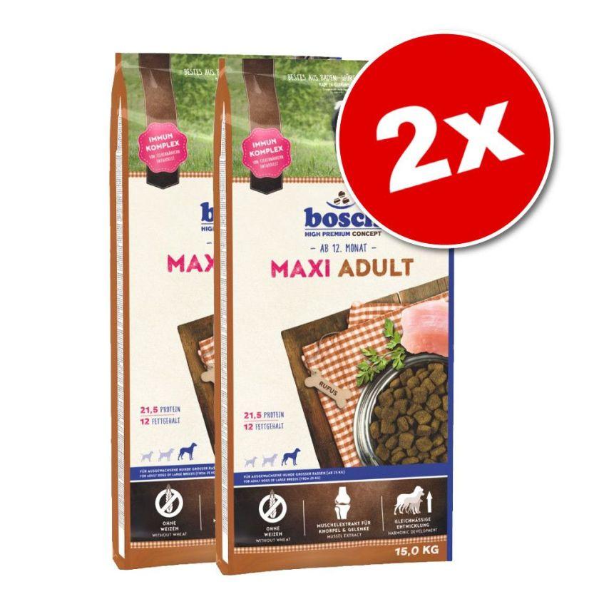 2x15kg Adult agneau, riz bosch® - Croquettes pour chien