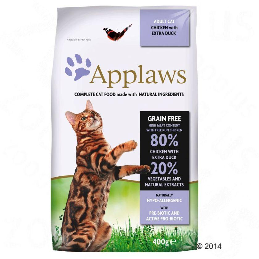 7,5kg Applaws Poulet/canard Croquettes pour chat