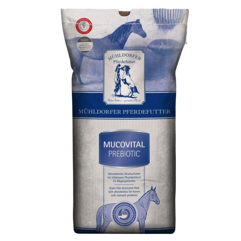 20kg Mucovital prebiotic Mühldorfer Muesli pour cheval