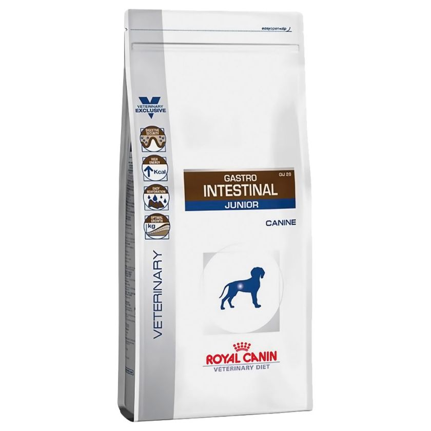 Royal Canin Gastro Intestinal Junior GIJ 29 - Veterinary Diet pour chien - 2 x 10 kg