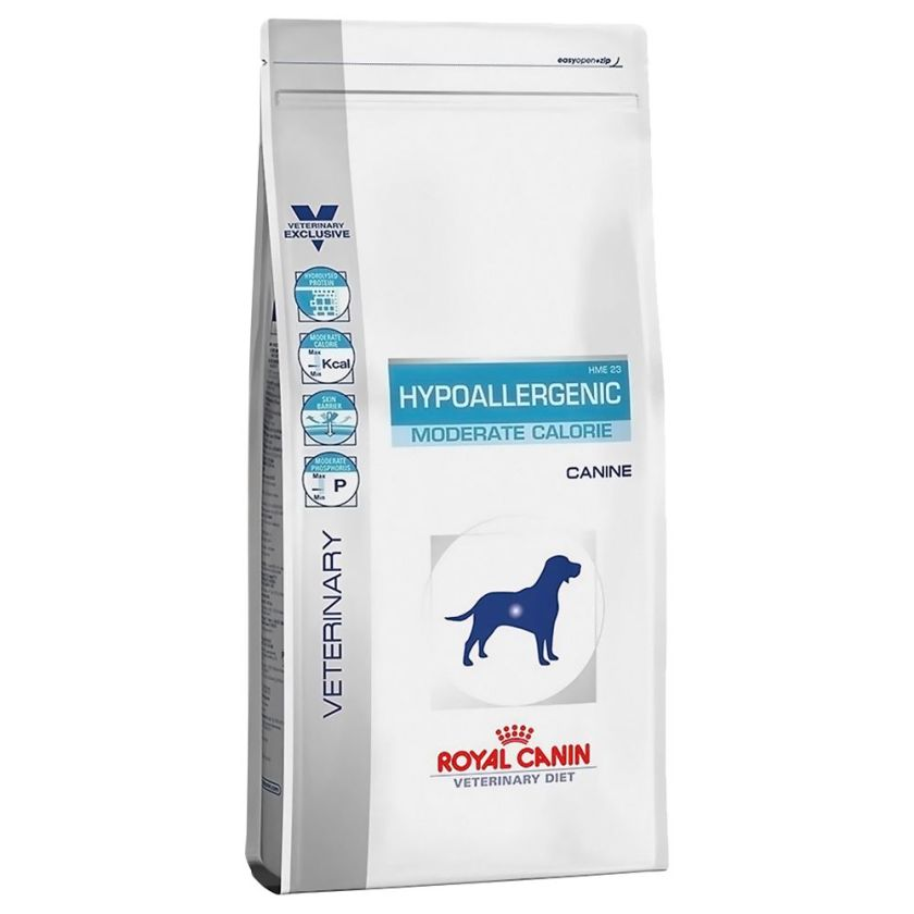 Royal Canin Veterinary Diet - Hypoallergenic Moderate Calorie - 7 kg