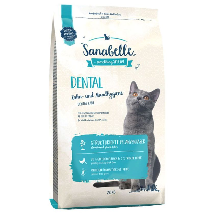 2x10kg Dental Sanabelle pour chat