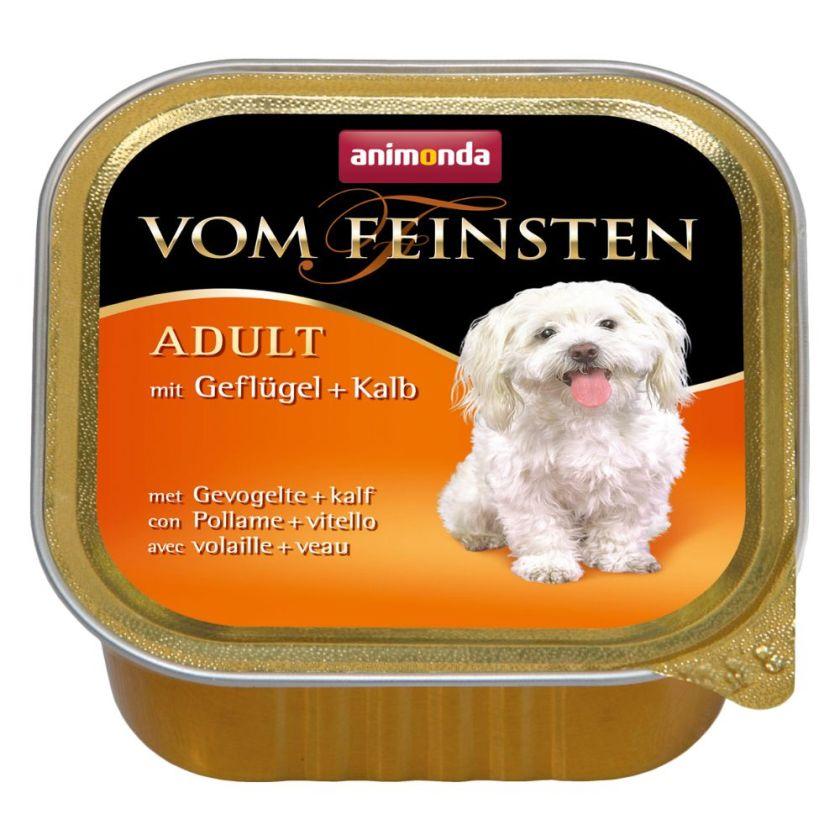 6x150g Adult dinde, agneau sans céréales Animonda - Nourriture pour chien