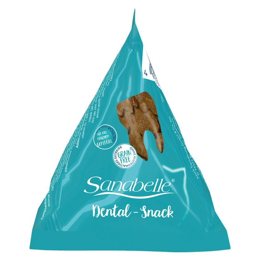 Sanabelle Dental Snack en berlingots pour chat - 24 x 20 g