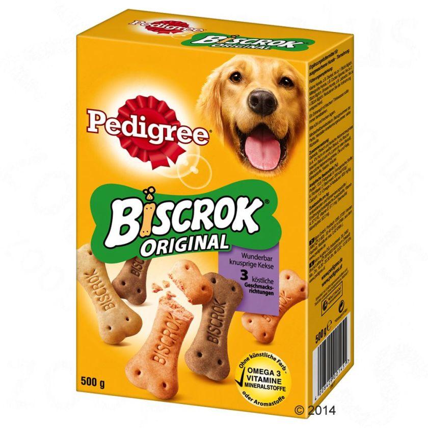 500g Biscrok 3 variétés Pedigree - Friandises pour Chien