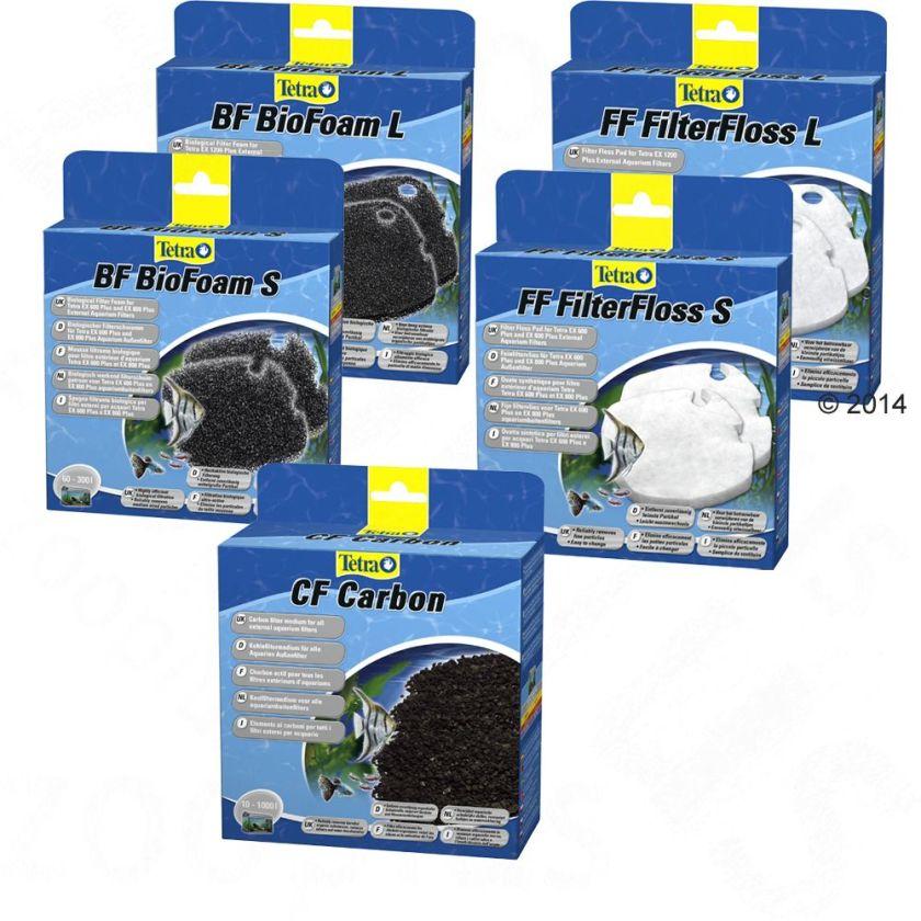 Tetra EX Plus charbon actif CF Masses filtrantes - Masse filtrante pour aquarium