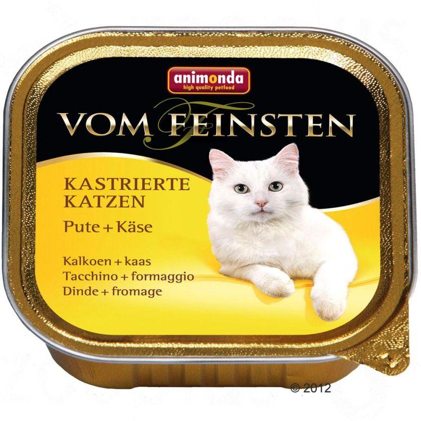 Animonda vom Feinsten 6 x 100 g pour chat stérilisé - dinde, truite