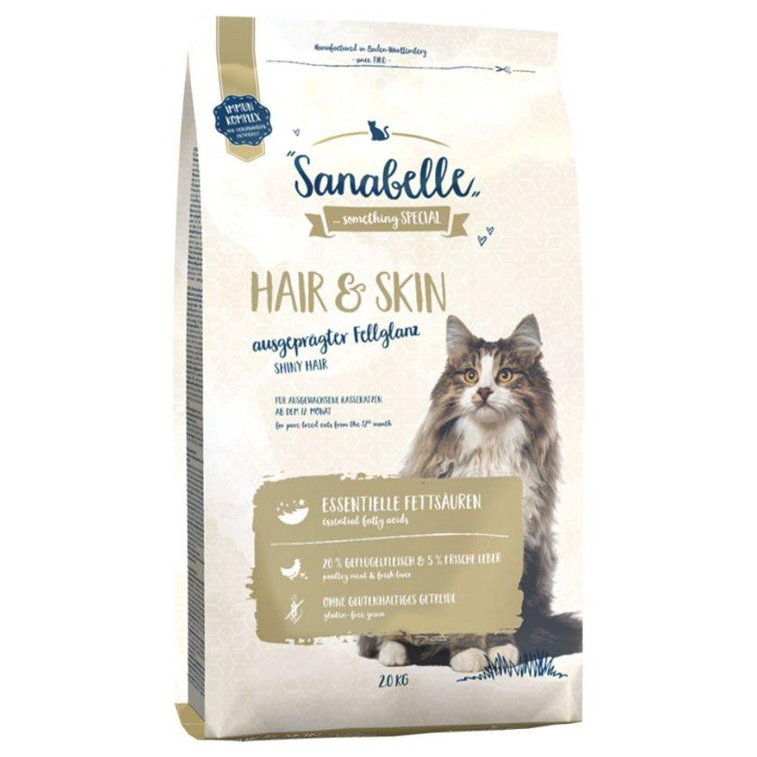 2kg Hair & Skin Sanabelle pour chat
