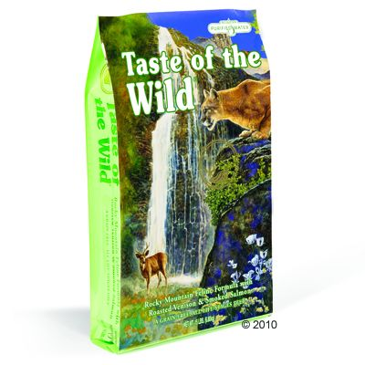 2 kg Rocky Mountain Taste of the Wild pour chat