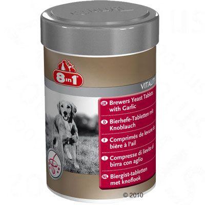 Comprimés 8in1 Vitality à la levure de bière pour chien - 260 comprimés