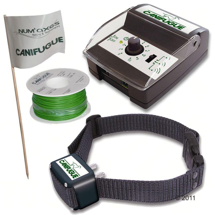 Num´axes Canifugue Small Collier et clôture anti-fugue - système anti-fugue avec filChien / Dressage et sport canin / Collier anti-fugue / -