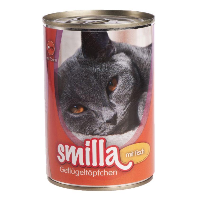 6x400g volaille, bœuf Smilla - Nourriture pour Chat