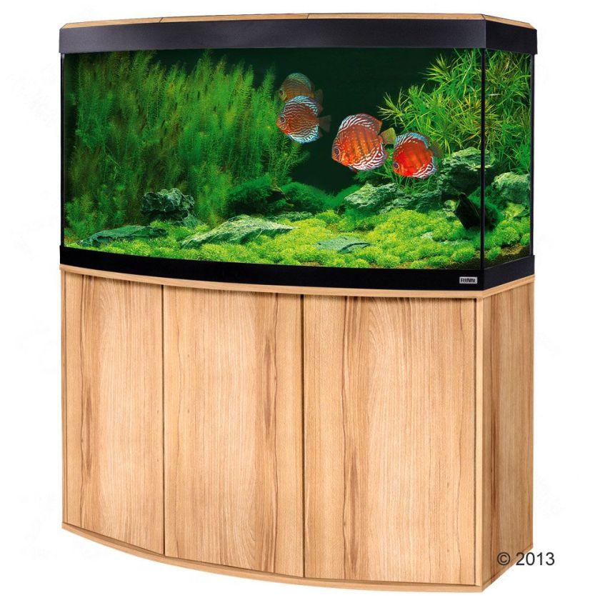 Ensemble aquarium / sous-meuble Fluval Vicenza 260 - blanc