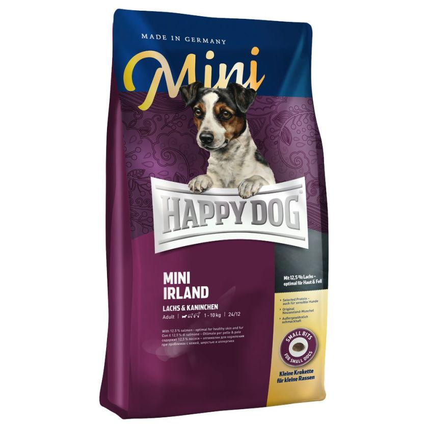 4kg Mini Irland Happy Dog Supreme Croquettes pour chien